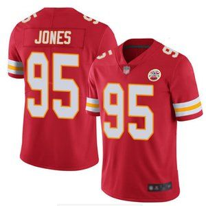 Men's Kansas City Chiefs #95 Chris Jones Jersey